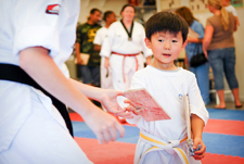 Martial Arts class for pre-schoolers