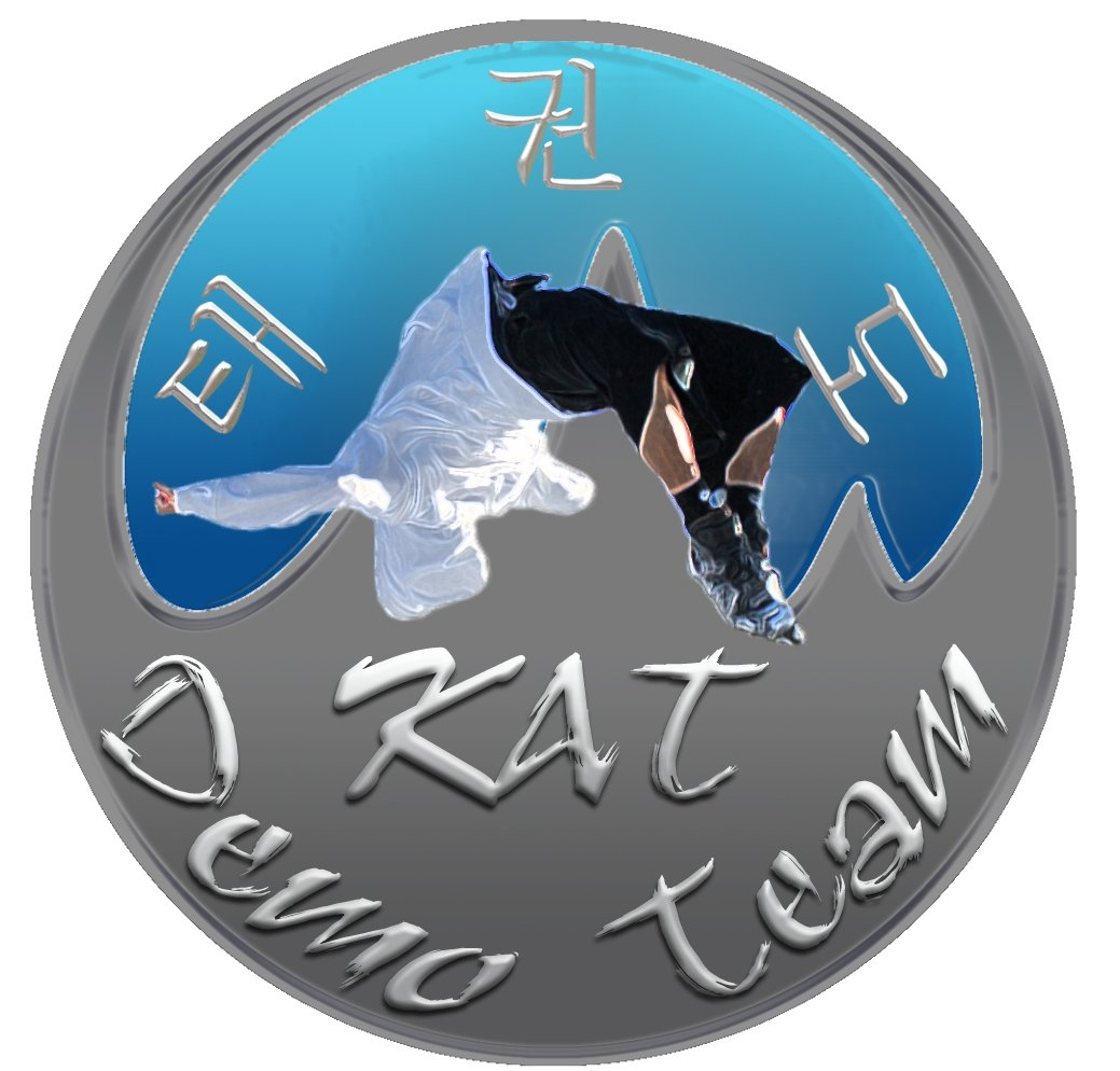 Demonstration Team Logo Aurora Martial Arts School White Tiger Force