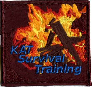 Martial Arts survival training patch