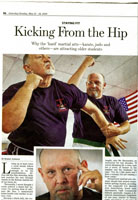 Wall Street Journal article taekwondo